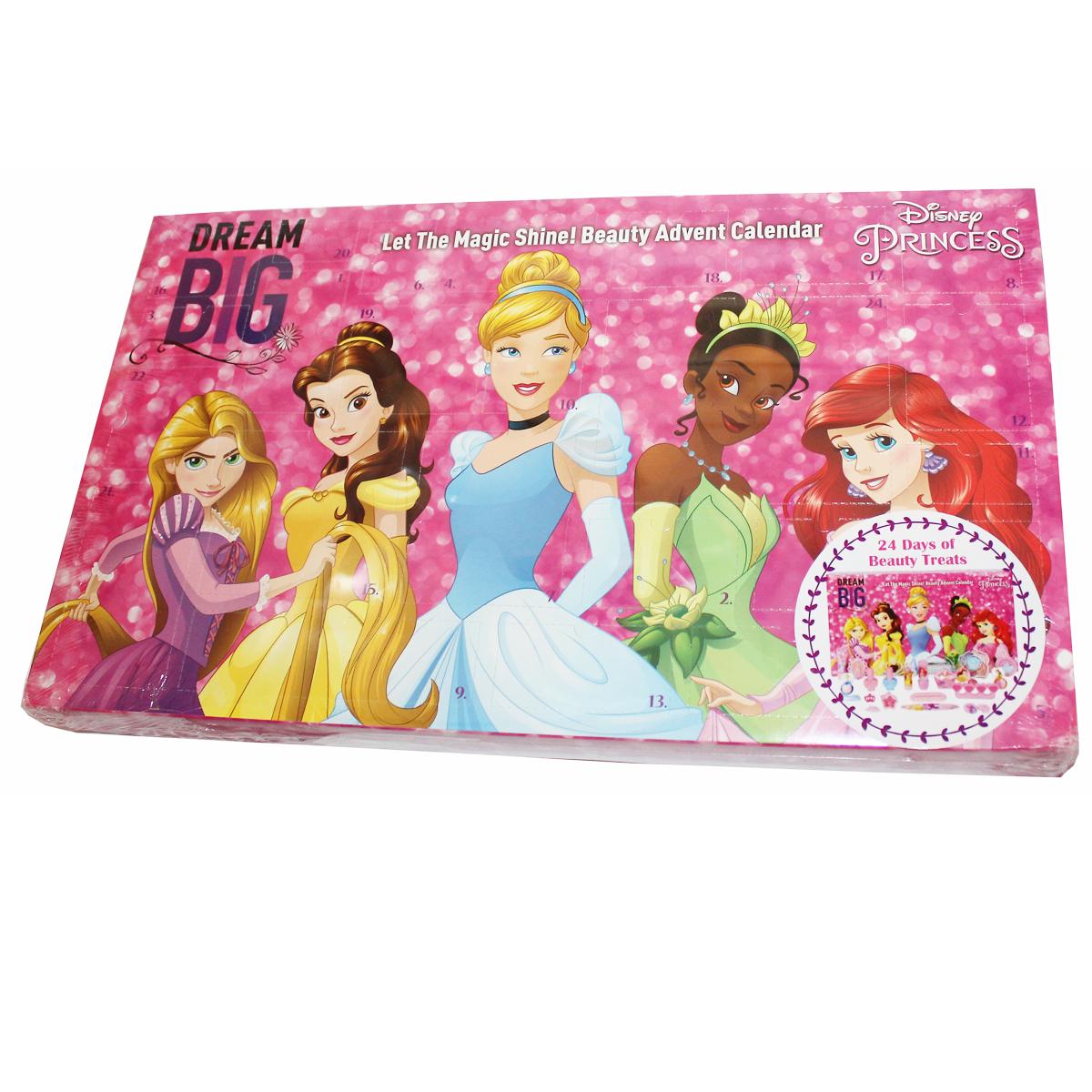 Mädchen Weihnachtskalender.Disney Adventskalender Princess Weihnachten Mädchen Beauty Kosmetik