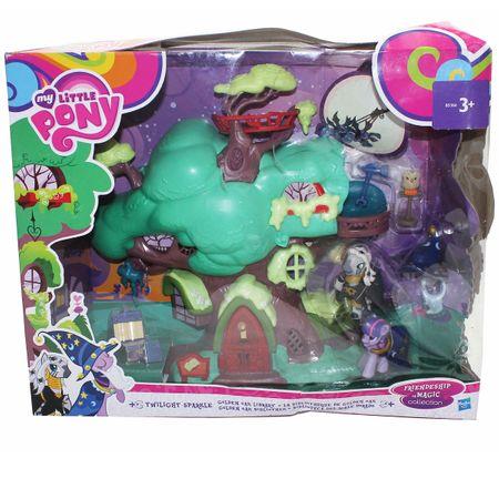 HASBRO B5366 My little Pony Spielset Twilight Sparkle Bücherei Kinder – Bild 1
