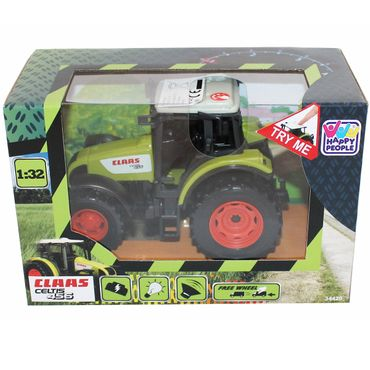 Happy People 34420 Claas Traktor Celtis 456 Licht & Sound Trecker Spielzeug