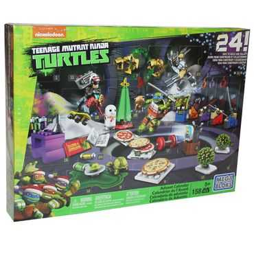 Mattel DPF85 Mega Bloks Teenage Mutant Ninja Turtles Adventskalender Weihnachten
