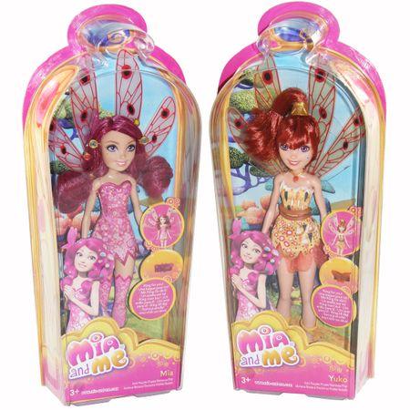 Mattel BJR47 Mia and Me Yuko Puppe Flügel mit Ring für dich Spielzeug Modepuppe – Bild 1