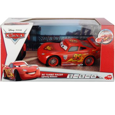 DICKIE RC Cars 2 Turbo Racer Lightning McQueen Fernbedienung Auto Spielzeug
