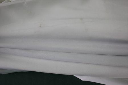 Doppel-Sonnenschirm creme 250 cm Stahl Alu Polyester Gartenschirm Schirm – Bild 3