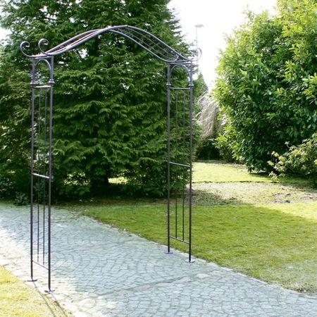 Rosenbogen Entree 239cm Rankhilfe Pergola Gartentor Torbogen Bogen B-Ware – Bild 1