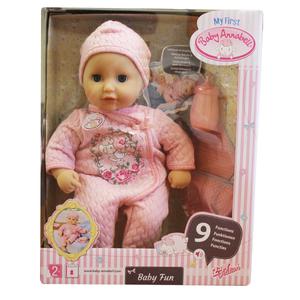 Zapf 700594 Baby Annabell My first baby Baby Fun Puppe Babygeräusche Spielpuppe 001