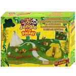 JUNGLE IN MY POCKET Sammelfiguren Figuren mit Spielset 5 Tierfiguren 001