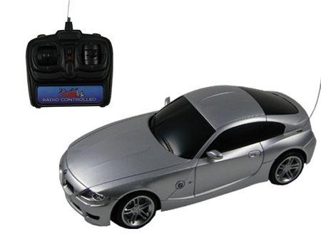 BMW Z4 M Coupe 1:16 ferngesteuertes Auto RC Auto Silber Modellauto