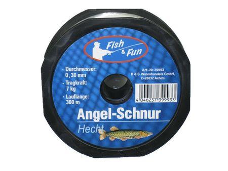 Angelschnur 300m HECHT Fish & Fun Angeln