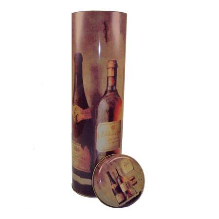Flaschendose HERRITAGE Flaschenverpackung Weingeschenkbox Metall