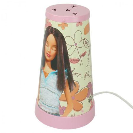 Mattel BARBIE Kinderlampe (A) Magische Tischlampe Nachtlicht Nachttischlampe Lampe Kinderzimmer – Bild 1