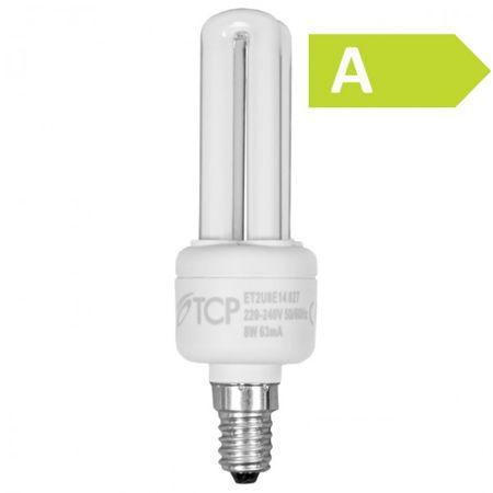 Energiesparlampe E14 8W Energiesparleuchte Glühbirne – Bild 1