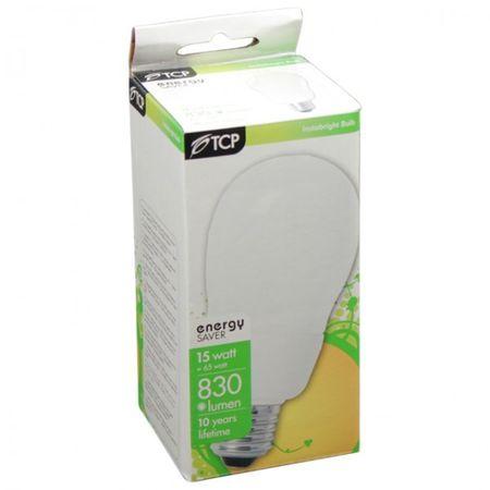 Energiesparlampe E27 15W Energiesparleuchte Glühbirne Allgebrauchslampe – Bild 3