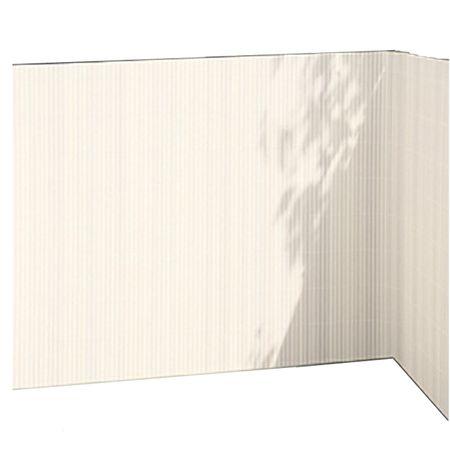 Balkonsichtschutz weiss 90x300 Kunststoff Sichtschutzmatte Balkonverkleidung