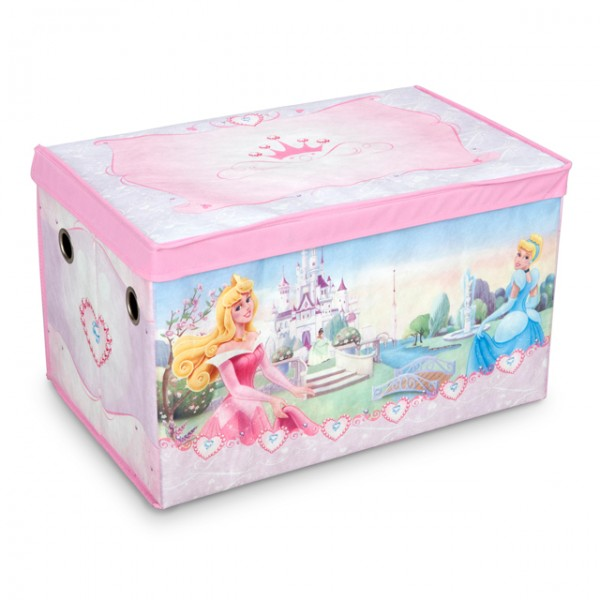 disney princess toy box canvas aufbewahrungsbox. Black Bedroom Furniture Sets. Home Design Ideas