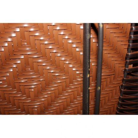 2 Bistro Stühle Rattan Gartenmöbel Gartenstühle (B-Ware) – Bild 2