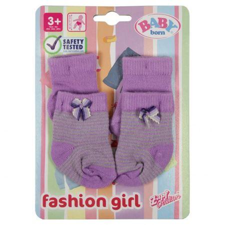 Zapf 801611 - BABY born Puppen-Socken - Kleidung Zubehör für BABY born Puppe 6 Farben wählbar  – Bild 2