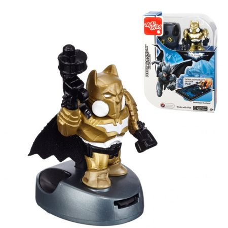 Mattel Apptivity Booster - mit Electro Blaster Figur -  Batman The Dark Knight Rises Digitales Spiel für iPad – Bild 4