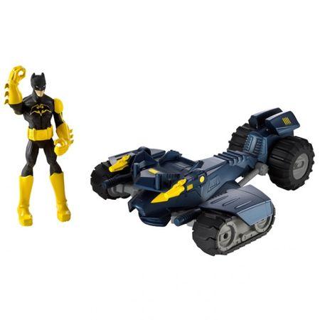 Mattel W7275 - Batman - Power Attack Figuren & Fahrzeug Combat Kick Kampffahrzeug Bat-Tank  – Bild 1
