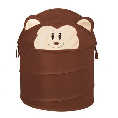 Faltbarer Korb Wäsche Spielzeug Wäschekorb Aufbewahrungskorb Monkey Affe