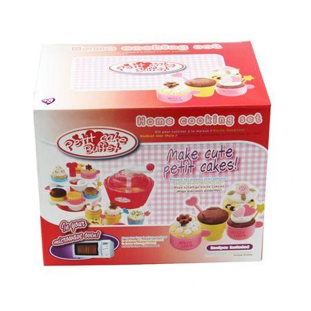 Cooking set Muffin Kinder Sablon kleine Konditorei Bäcker Kuchen