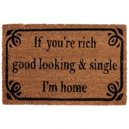 Fußmatte mit englischem Spruch aus Kokos Willkommensmatte Türmatte wählbar – Bild 4