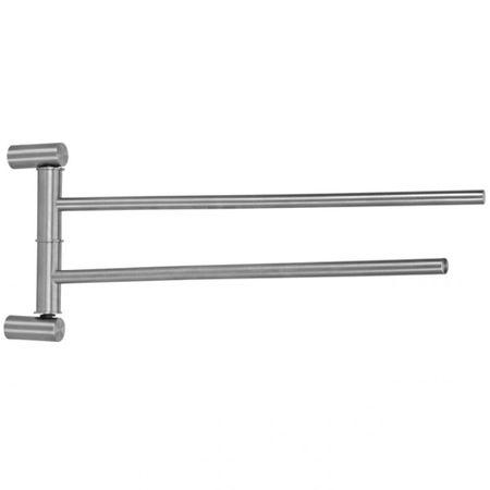 Moderner schwenkbarer Edelstahl Handtuchhalter Badezimmer Handtuchstange Wandhandtuchhalter – Bild 1