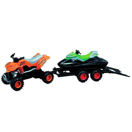 DICKIE Summer Quad 42cm Anhänger Jetski Boot Spielzeug Weihnachten Kinder Spiel – Bild 1