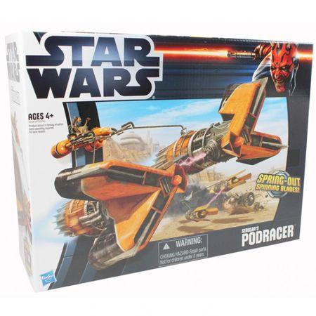 Hasbro Star Wars Class II Fahrzeug Sebulba's PODRACER Tank Spielwelt