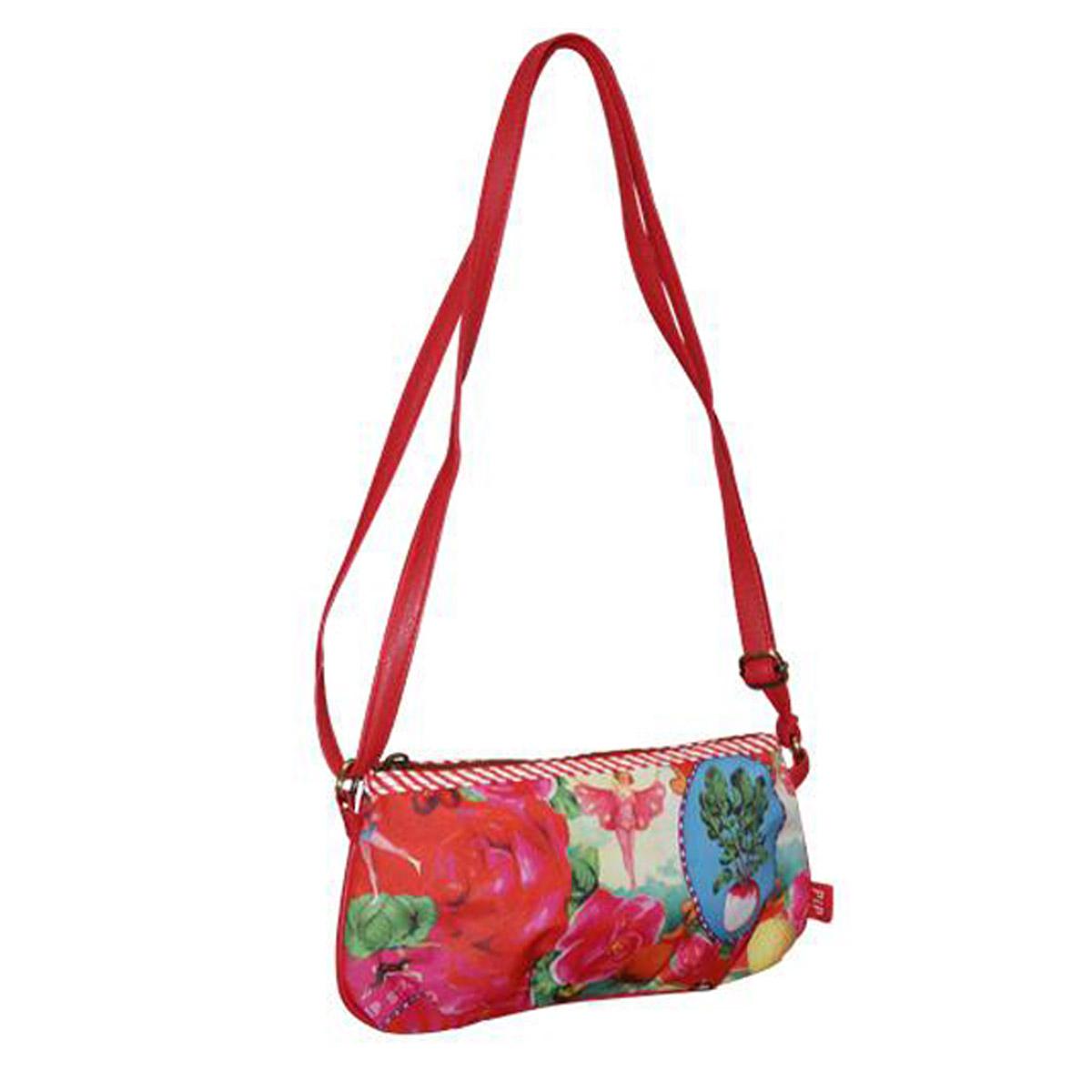 pip studio girly bag rot handtasche abendtasche umh ngetasche tasche beutel kosmetiktasche sport. Black Bedroom Furniture Sets. Home Design Ideas