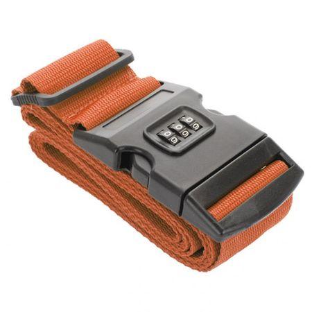 Koffergürtel 180 cm mit Zahlenschloss Reiseschloss Reisegurt Koffergurt Reisetaschengurt Koffergurt  – Bild 4