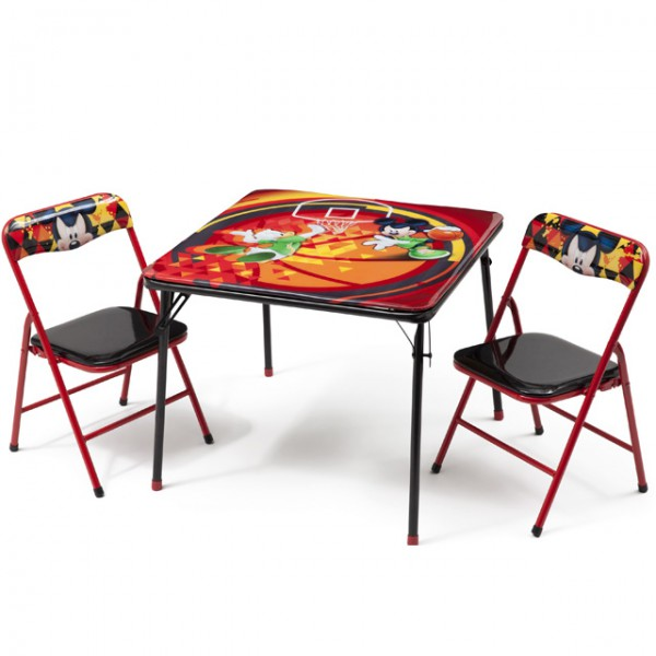 disney mickey mouse kindersitzgruppe sitzgruppe klapptisch klappstuhl kinderm bel tisch 2. Black Bedroom Furniture Sets. Home Design Ideas
