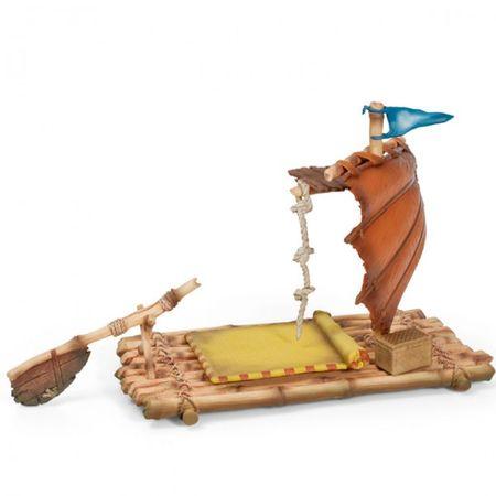 SCHLEICH 42063 Arelan Floß Schiff Boot Spielfigur Modell Bayala Krieger Elfenreich