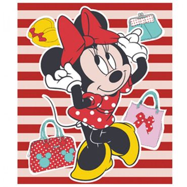 Disney Fleece Decke Kuscheldecke Plaid Cars Minnie Mickey Princess Fleecedecke  – Bild 5