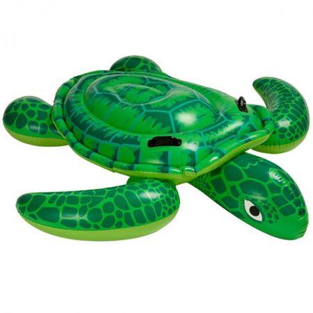 INTEX Reittier Schildkröte grün 191 x 170 cm aufblasbar Schwimmen Wasser Kind