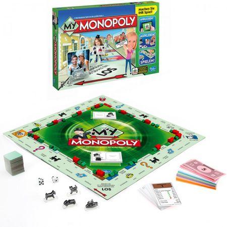 Hasbro A8595 My Monopoly Brettspiel Strategie Familie - App nicht mehr verfügbar – Bild 2
