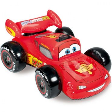 INTEX Disney Cars Auto Raceauto aufblasbar 107x71cm Lightning McQueen Pool