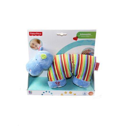 Mattel Fisher Price 40841 40842 Schmusetuch Nilpferd Giraffe Kuscheltier Spielzeug  – Bild 2