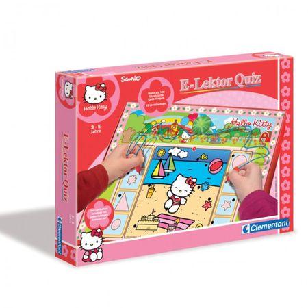 Clementoni 69310 Mike der Ritter E-Lektor Quiz Hello Kitty 69789 Strategiespiel Spielzeug  – Bild 2