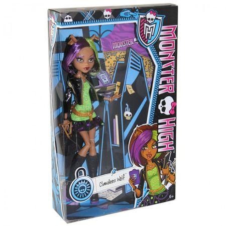 Mattel Monster High Puppe X4419 X4625 Grant Billy Wolf DeMew Long Noir Figur  – Bild 3