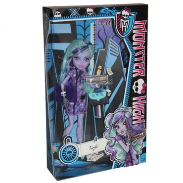 Mattel Monster High Puppe X4419 X4625 Grant Billy Wolf DeMew Long Noir Figur  – Bild 8