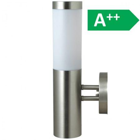 Aussenleuchte Wandleuchte Edelstahl 36 cm (H) Beleuchtung Gartenlampe Leuchte  – Bild 2
