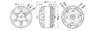 T-Motor MN4010 KV580 – Bild 5