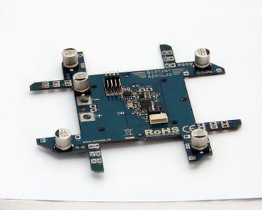 Stromverteiler / Adapter I2C/PWM -> CAN für Regler 2N2N (Quadrokopter) – Bild 1
