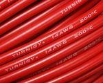 Silikon Kabel 14AWG / 2,5 mm² - Rot 001