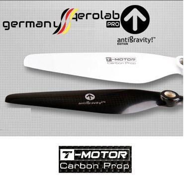 1 Paar 9x3 antigravity! schwarz T-Motor Carbon Propeller DJI  (1x CW / 1x CCW) – Bild 1