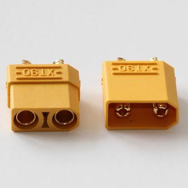 1 Paar XT90 Verpolschutzstecker (1xStecker + 1xBuchse)