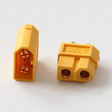 XT60 Verpolschutzkontakt (1xStecker + 1xBuchse)