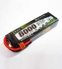 DUALSKY H.E.D. LiPo- 4S 8000mA - XP80004HED - Xpower battery – Bild 2