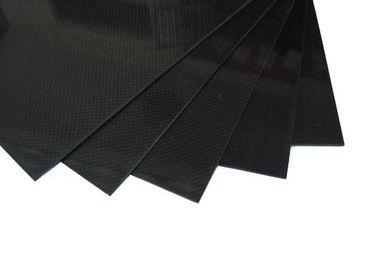 Glasfaser/Carbon Platte - 400 x 500 x 2 mm - 3K Carbon & Glasfaser Mix