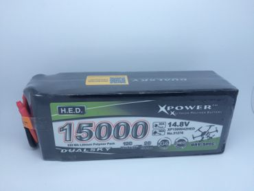 DUALSKY H.E.D. LiPo- 4S 15000mA - XP1500042HED - Xpower battery – Bild 1